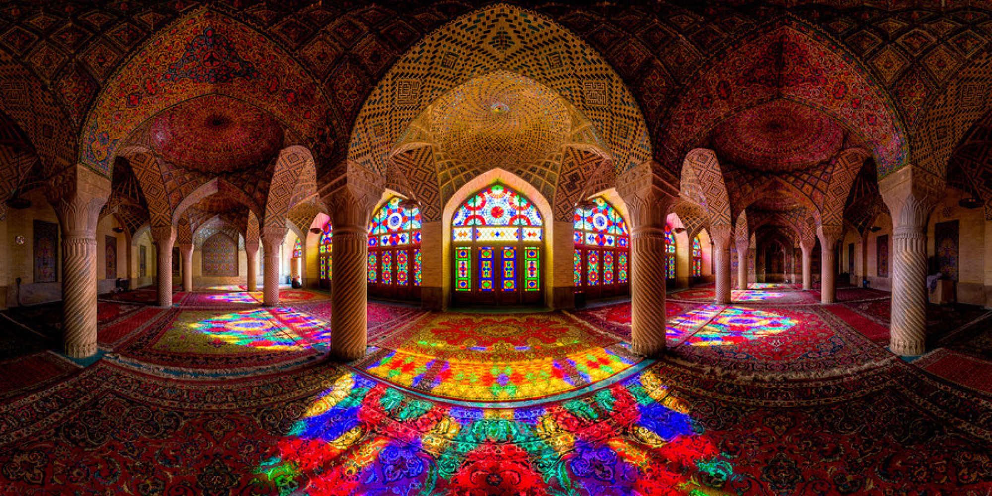 Nasir al Mulk Pink Mosque Of Iran Is Like Stepping Into A 2000x1000
