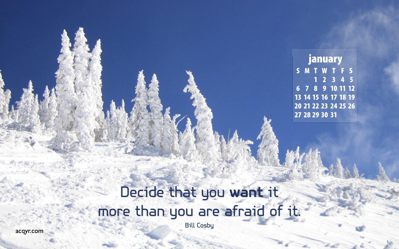 January 2008 Desktop Wallpaper Calendar   1 1440x900
