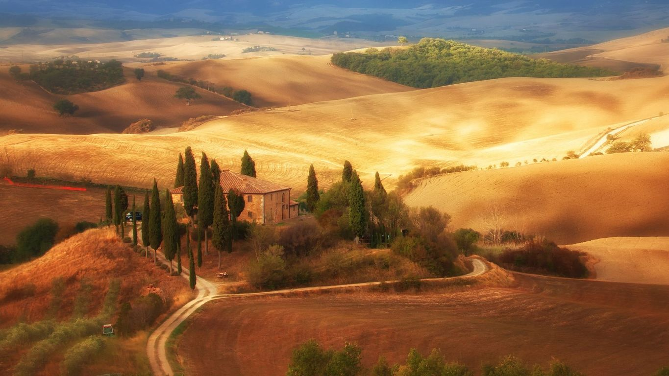 Old World Tuscan Wallpaper Wallpapersafari