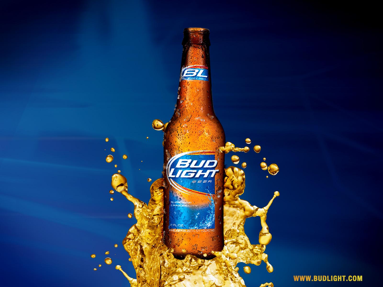 Papel de Parede Cerveja Bud Light Wallpaper para Download no Celular 1600x1200
