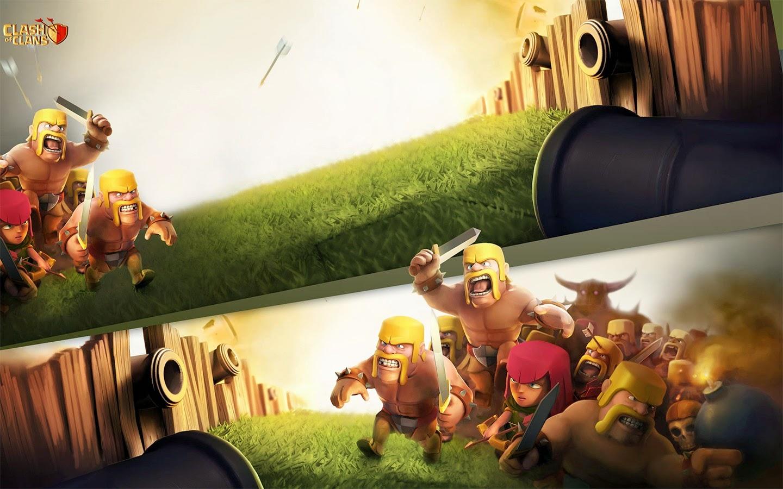 Clash of Clans HD Wallpaper Def 1440x900