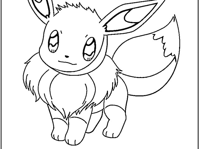 Free Download Eevee Pokemon Coloring Pages Coloring Pages For Kids 640x480 For Your Desktop Mobile Tablet Explore 47 Pokemon Wallpaper For Kids Tablet Awesome Pokemon Wallpapers Pokemon Wallpaper For