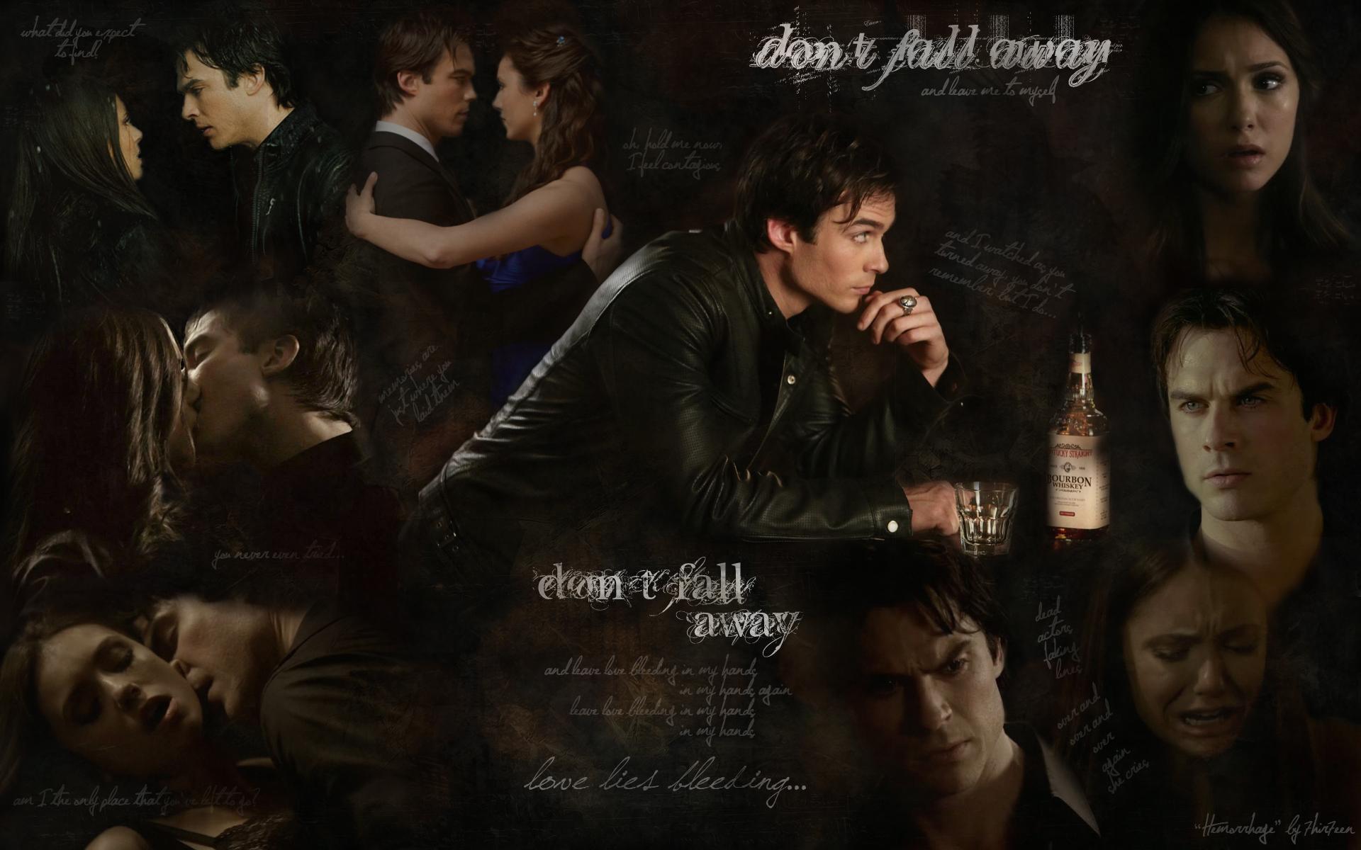 The Vampire Diaries images quotHemorrhagequot    Damon and Elena 1920x1200