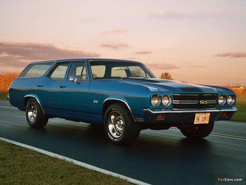 Chevrolet Chevelle SS Wagon 1970 wallpapers 1024 x 768 1024x768