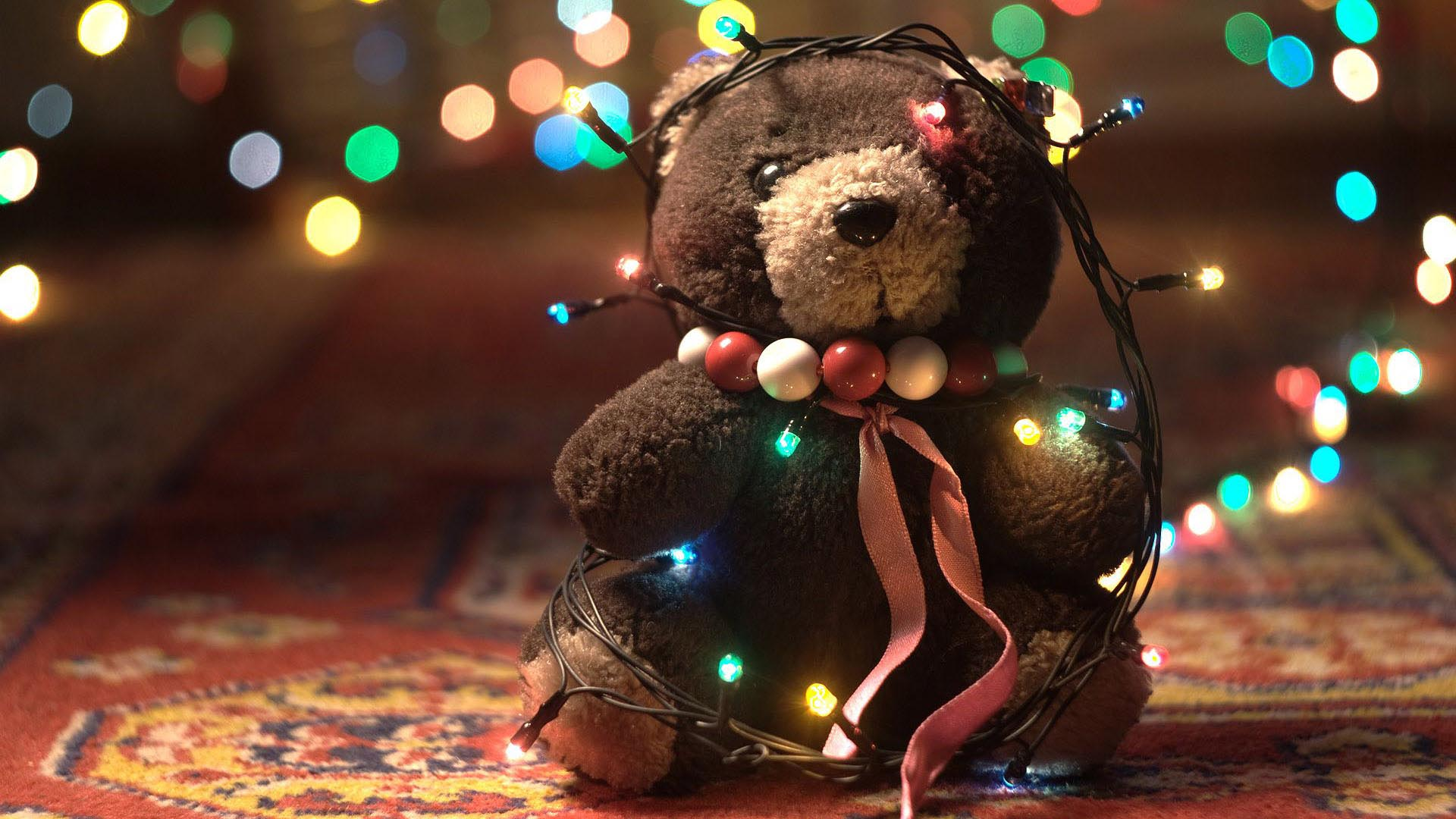 Christmas Lights wallpaper 2014   Shiny wallpaper 1920x1080