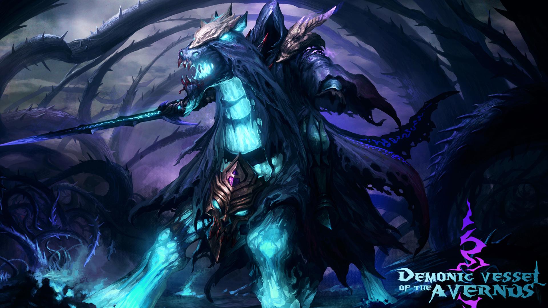 demonic vessel of the avernus set dota 2 game hd wallpaper 1920x1080 1920x1080