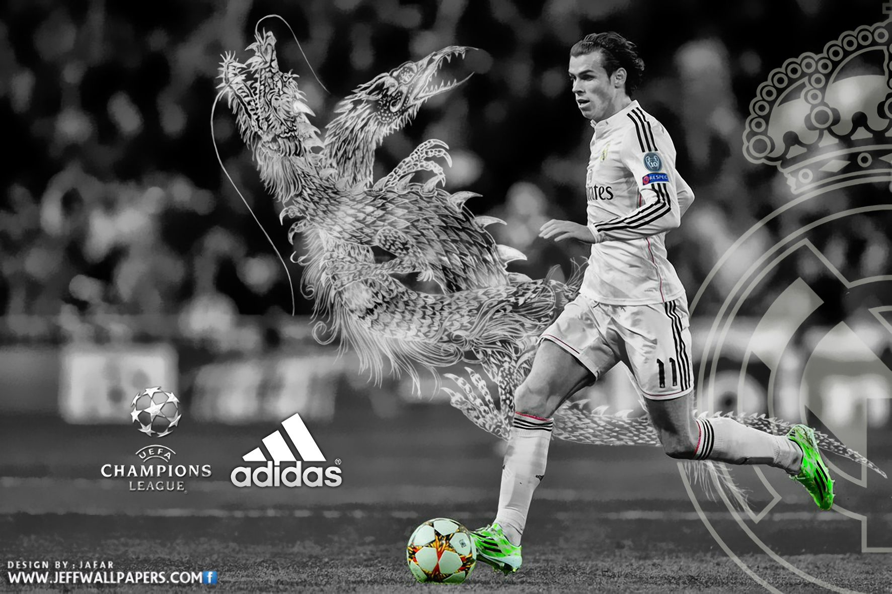 Gareth Bale 2015 Real Madrid HD Wallpaper desktop backgrounds 1772x1181
