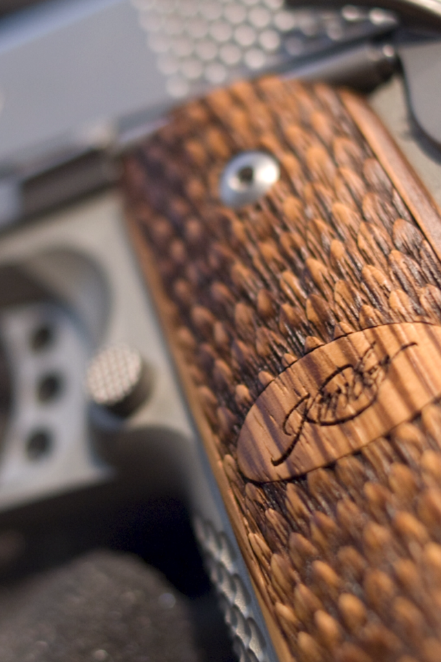 Kimber wallpaper for iPhone or other mobile device   1911Forum 640x960