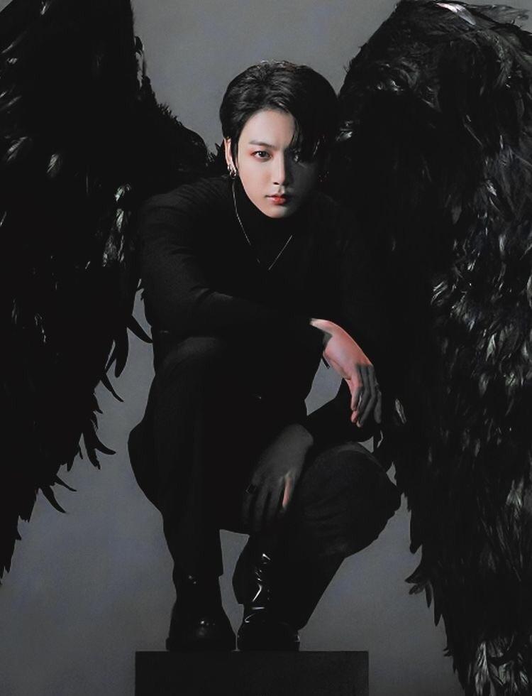 Jungkook Wallpaper Black Swan Photoshoot on We Heart It 750x980