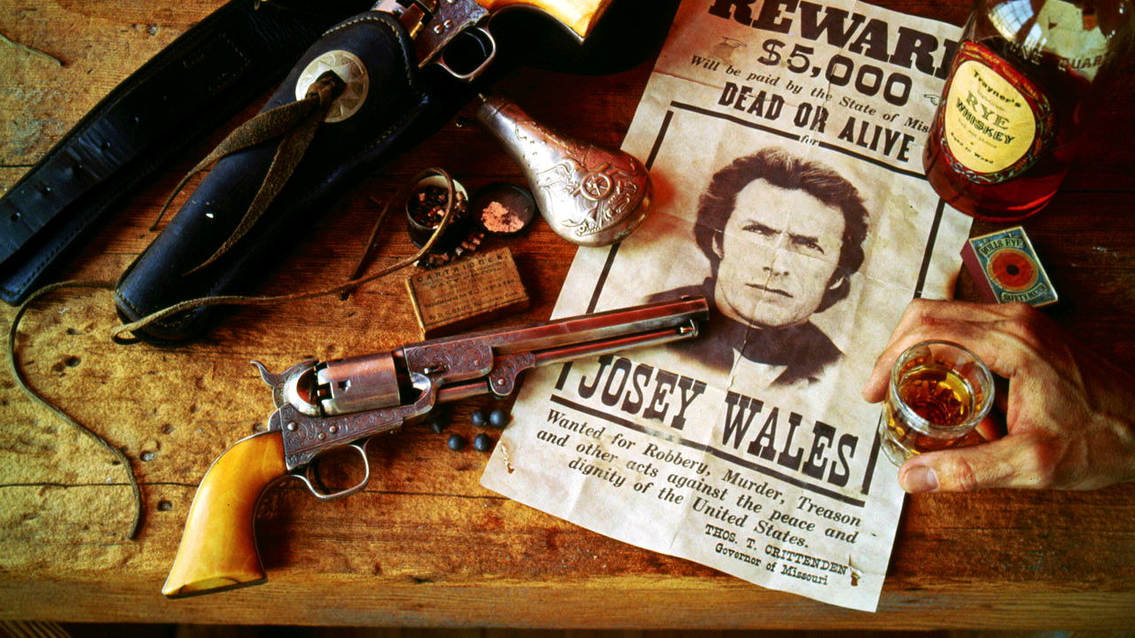 The Outlaw Josey Wales Wallpaper   Clint Eastwood Wallpaper 34452255 1280x720