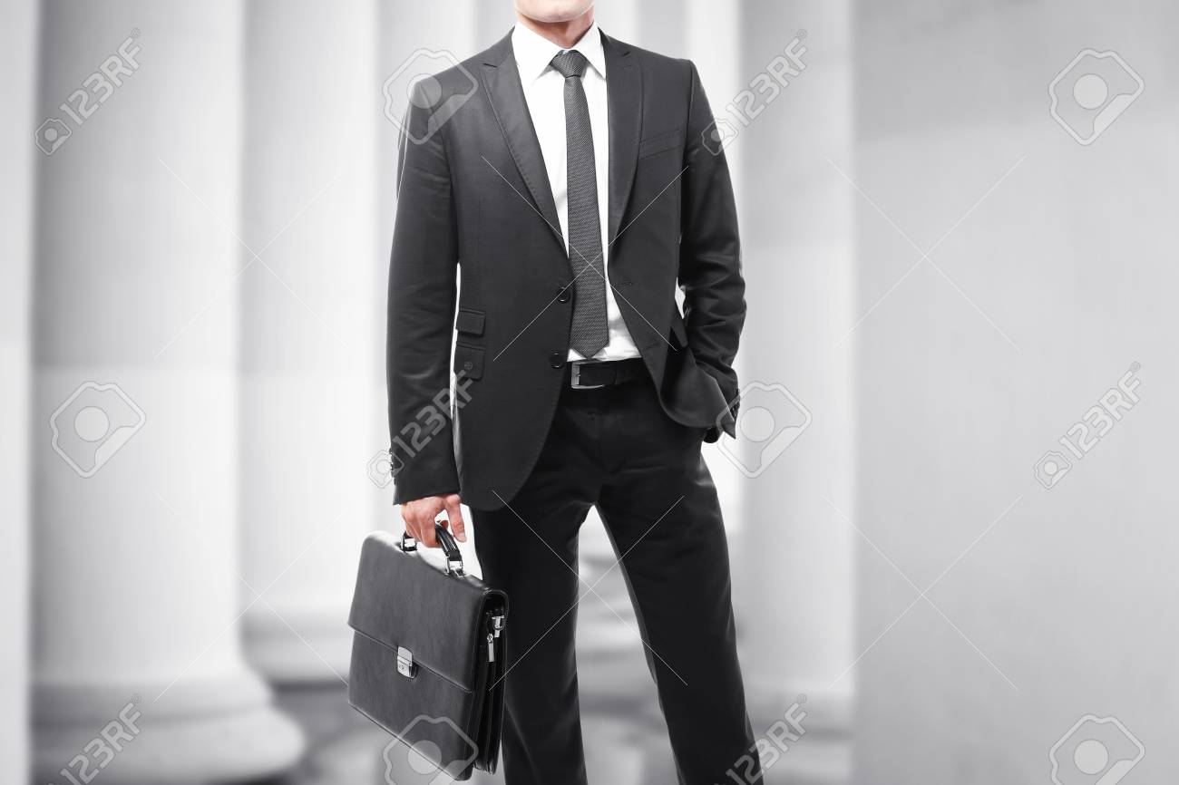 Law And Justice Concept Man With Briefcase On Courthouse 1300x866