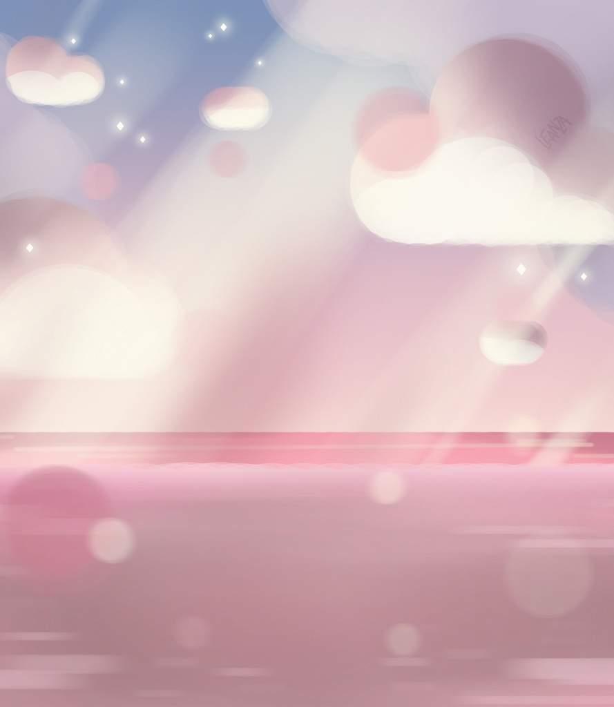 SU Clouds background Cartoon Amino 889x1024
