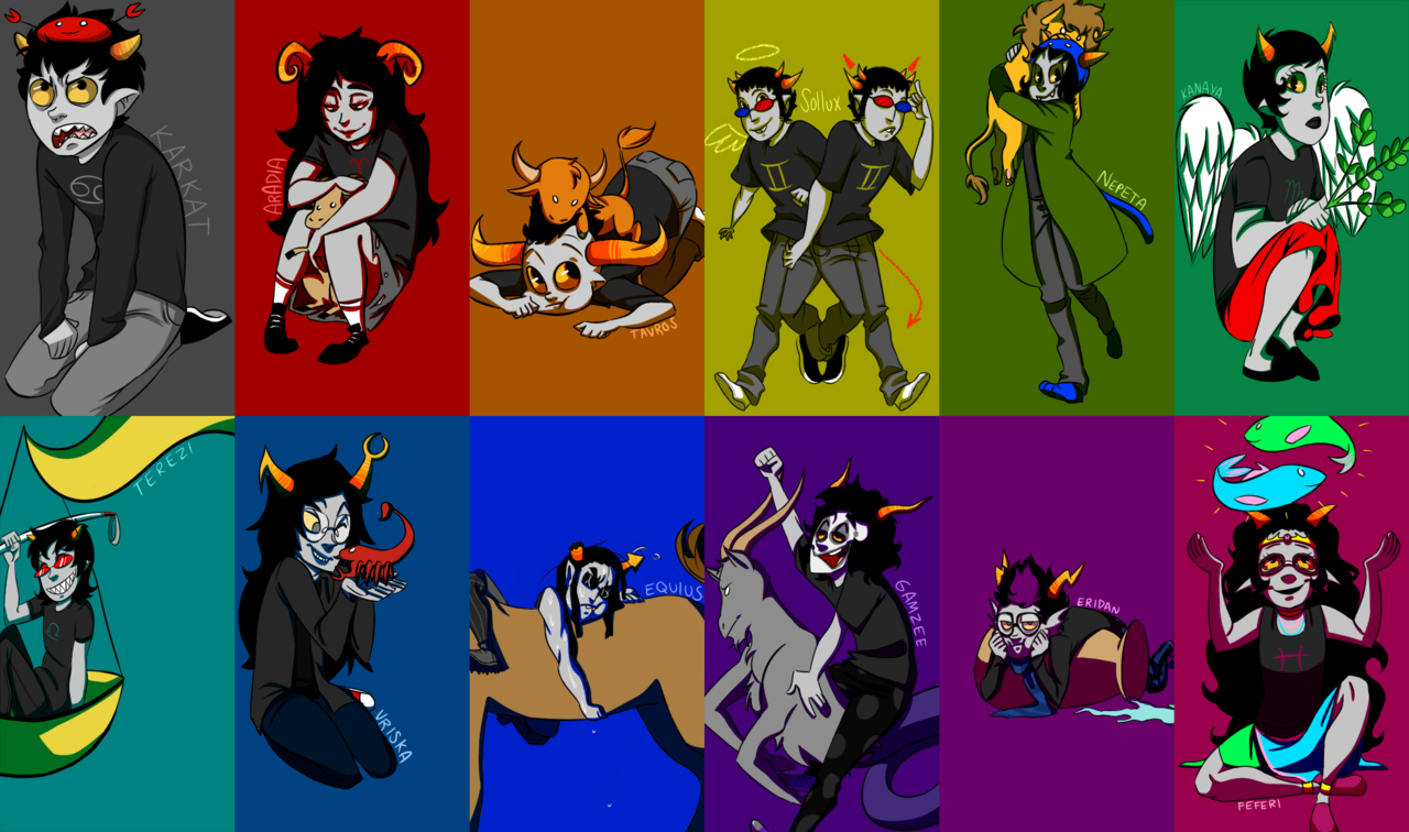 Homestuck Trolls Wallpaper - WallpaperSafari