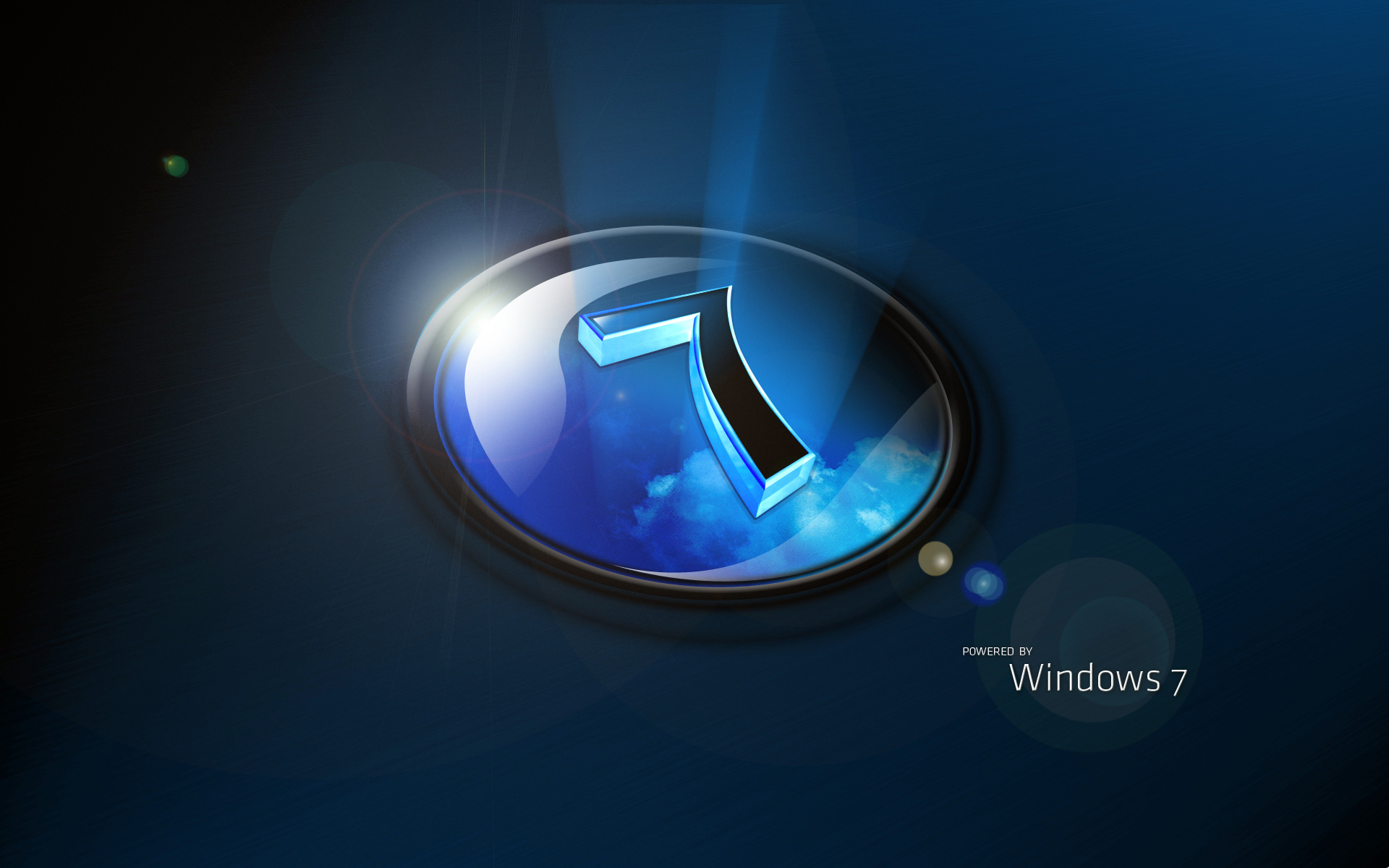 Download Windows 7 Reflective Logo HD Wallpaper 3680 Full Size 1920x1200