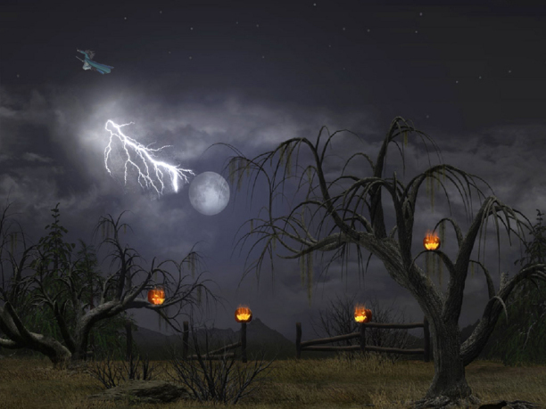 3d Animated Halloween Desktop Wallpaper Foto Artis   Candydoll 612x459