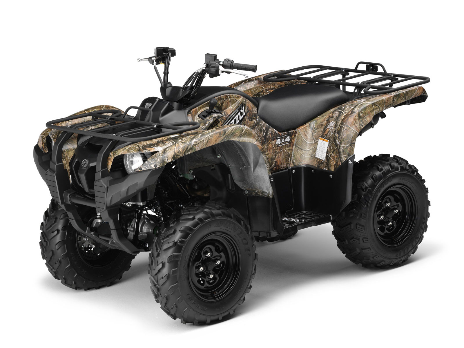 ATV wallpapers 2009 YAMAHA Grizzly 700 FI specifications 1600x1200