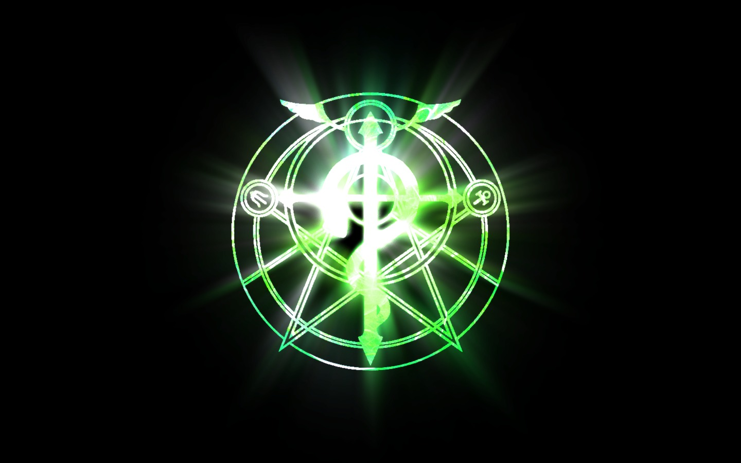Free Download Transmutation Circle Wallpaper 4042