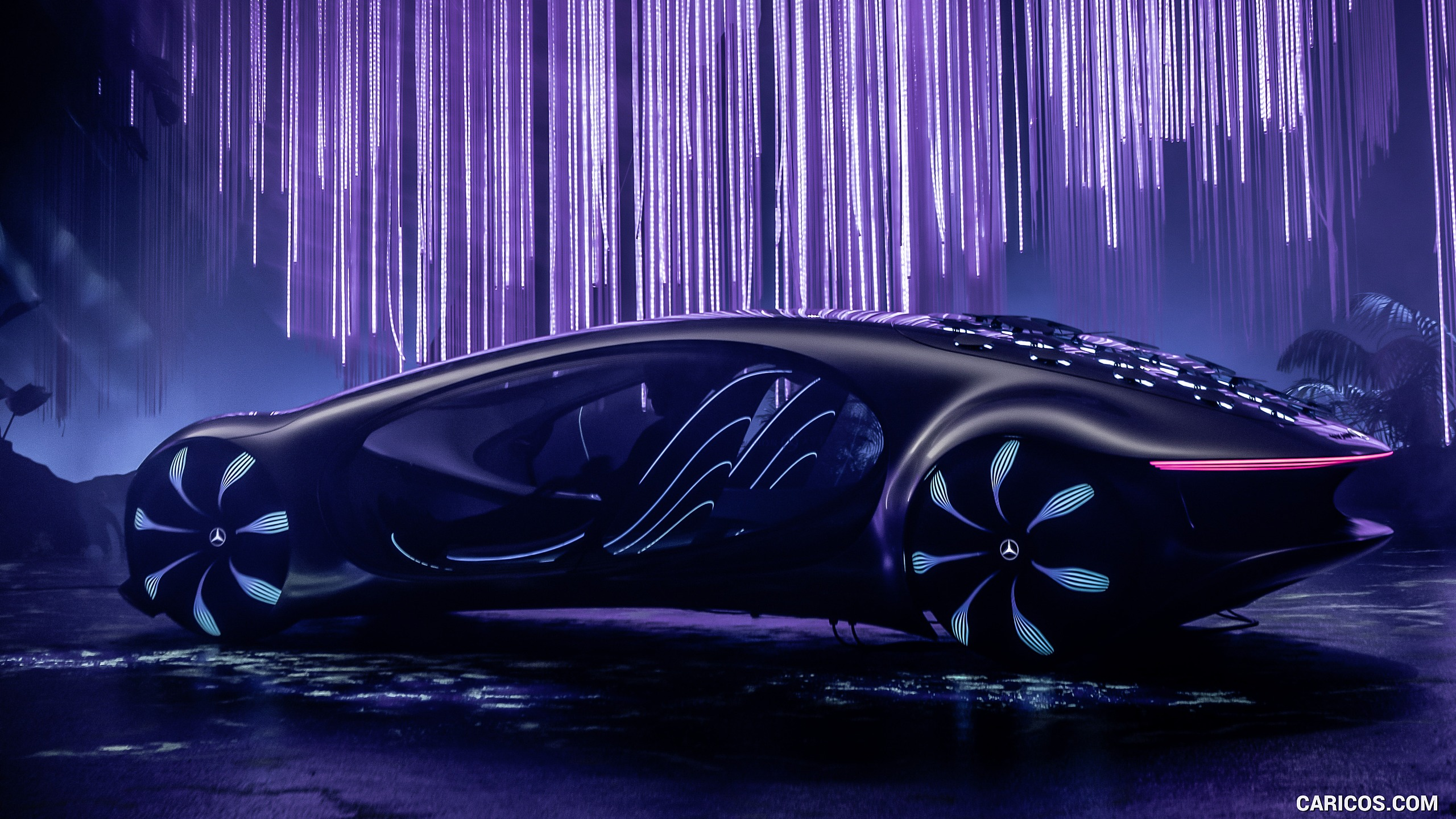 2020 Mercedes Benz VISION AVTR Concept   Side HD Wallpaper 12 2560x1440