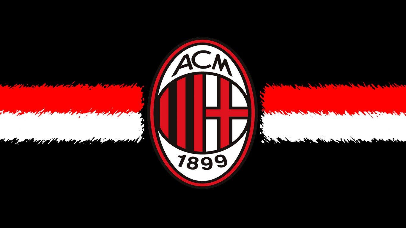 Ac Milan ac milan logo 1366x768