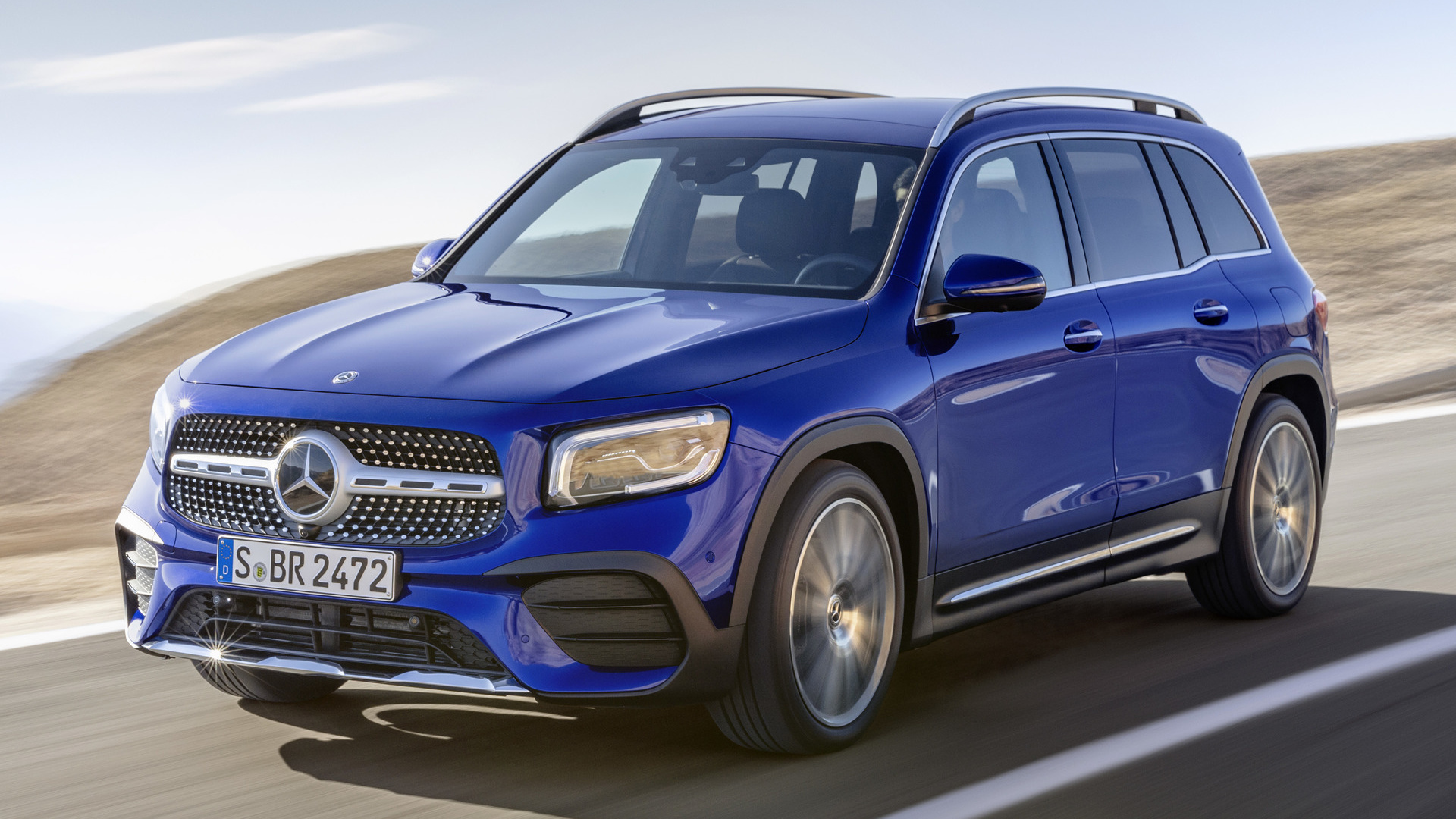 2019 Mercedes Benz GLB Class AMG Line   Wallpapers and HD Images 1920x1080