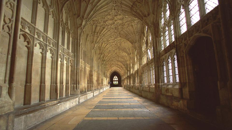 Gloucester Cathedral in Gloucester England also served as Hogwarts 960x540