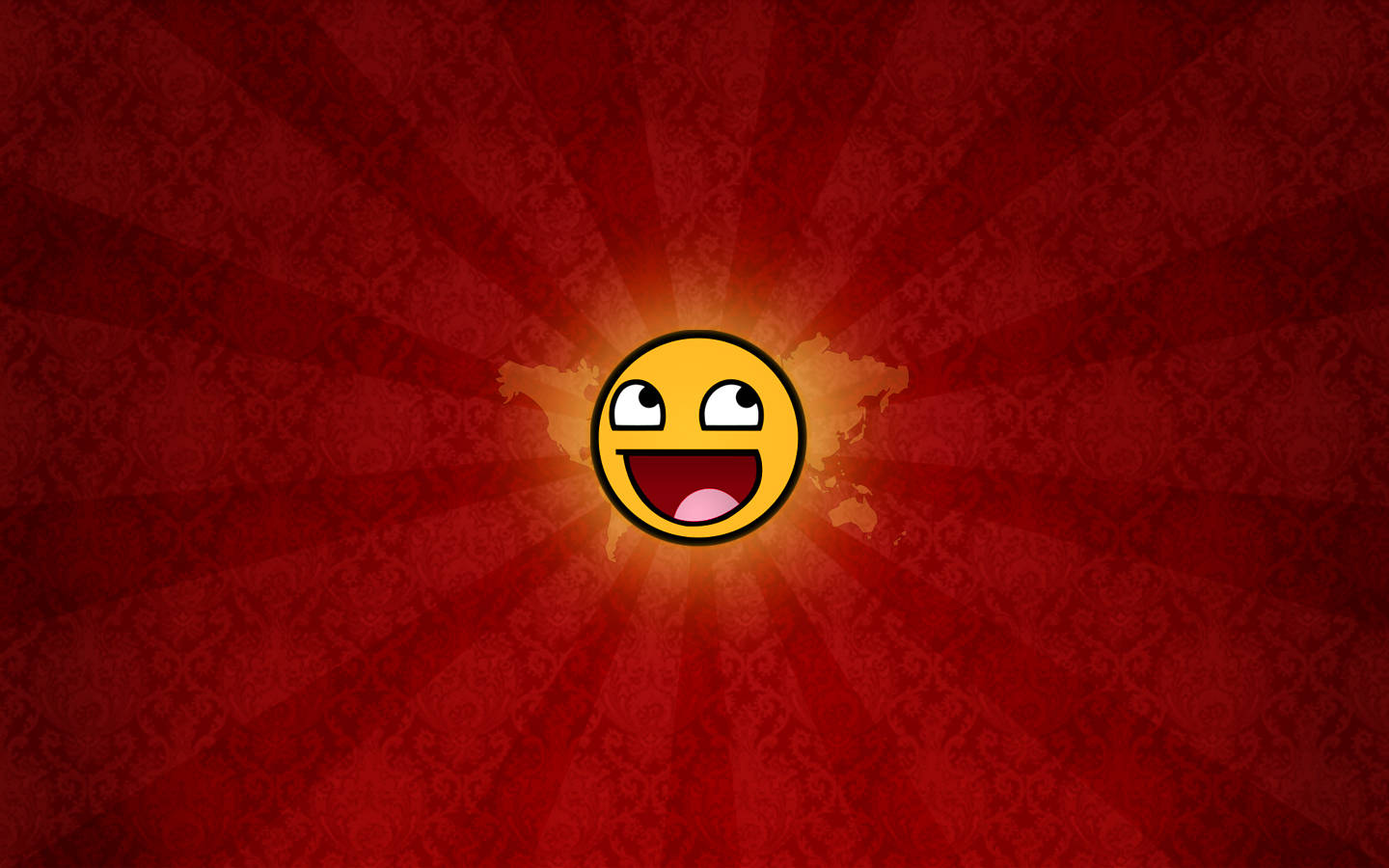 smiley awesome face 1920x1200 wallpaper digital awesome face hd art hd 1440x900