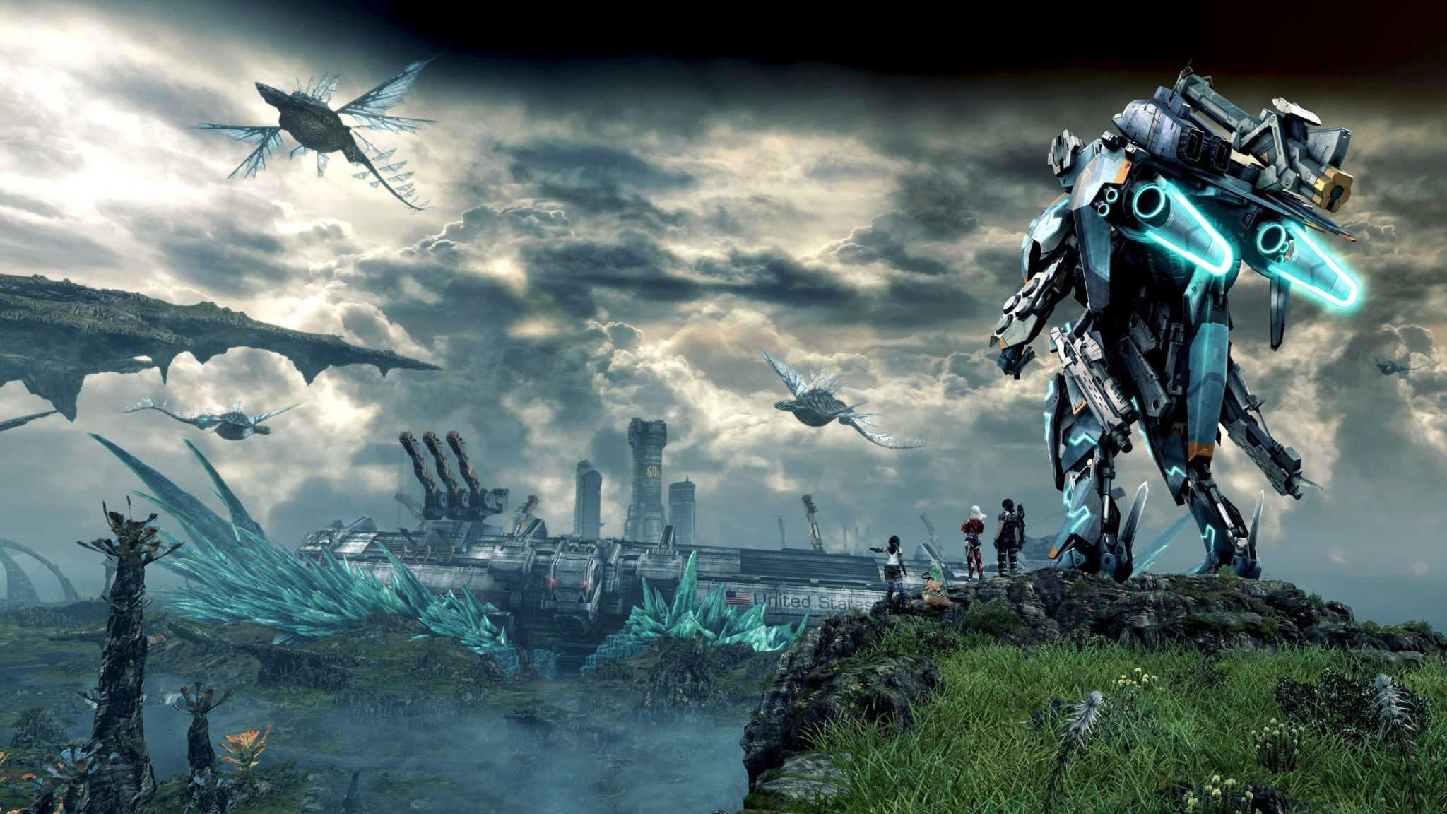 Xenoblade Chronicles X Game 2015 2048 x 1152 Download Close 2048x1152