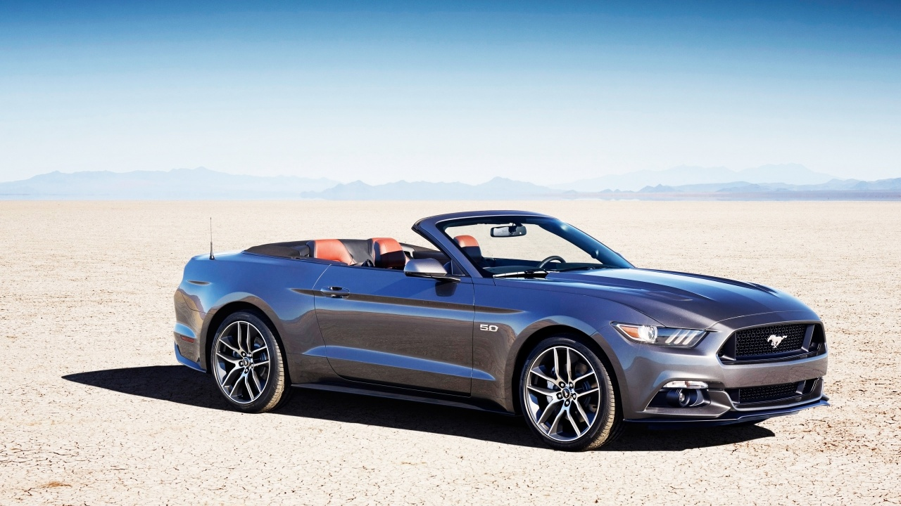 2015 Ford Mustang Convertible Wallpaper HD Car Wallpapers 1280x720