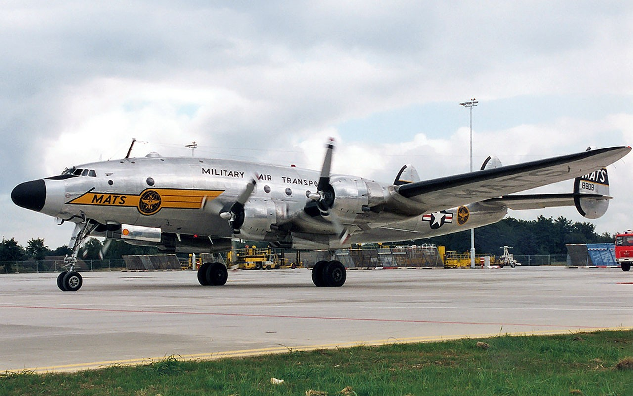 Aircraft transports lockheed force airplanes vintage wallpaper 1280x800