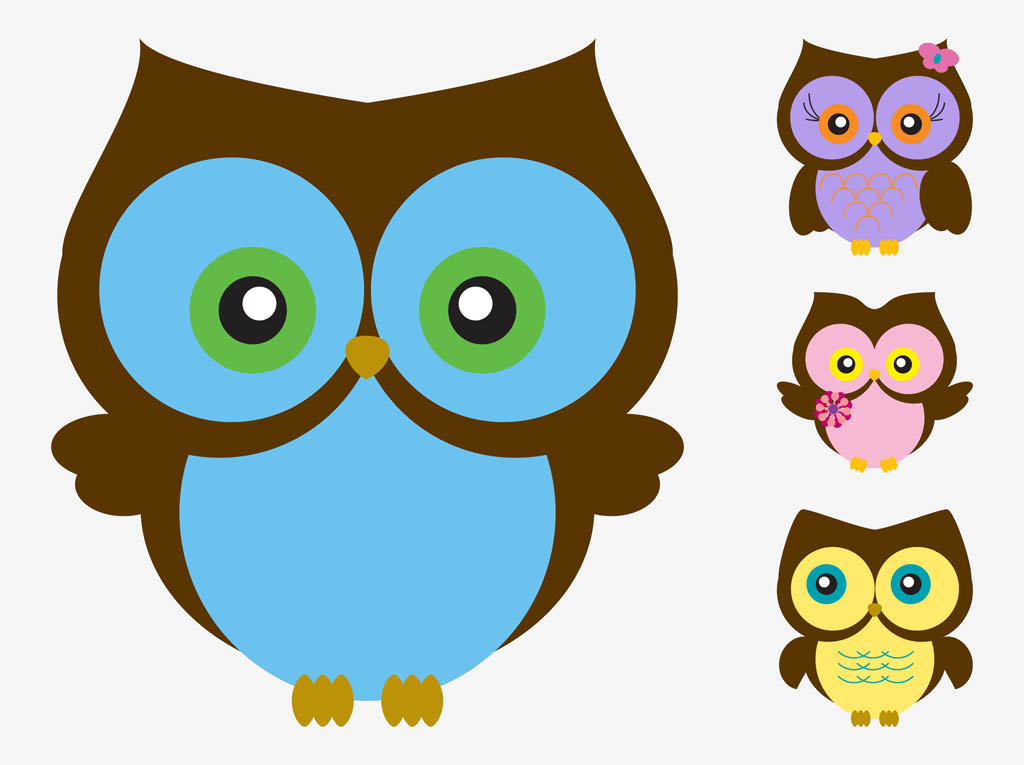 cute cartoon owl wallpaper wallpapersafari Owl Clip Art Transparent Background Owl Family Clip Art