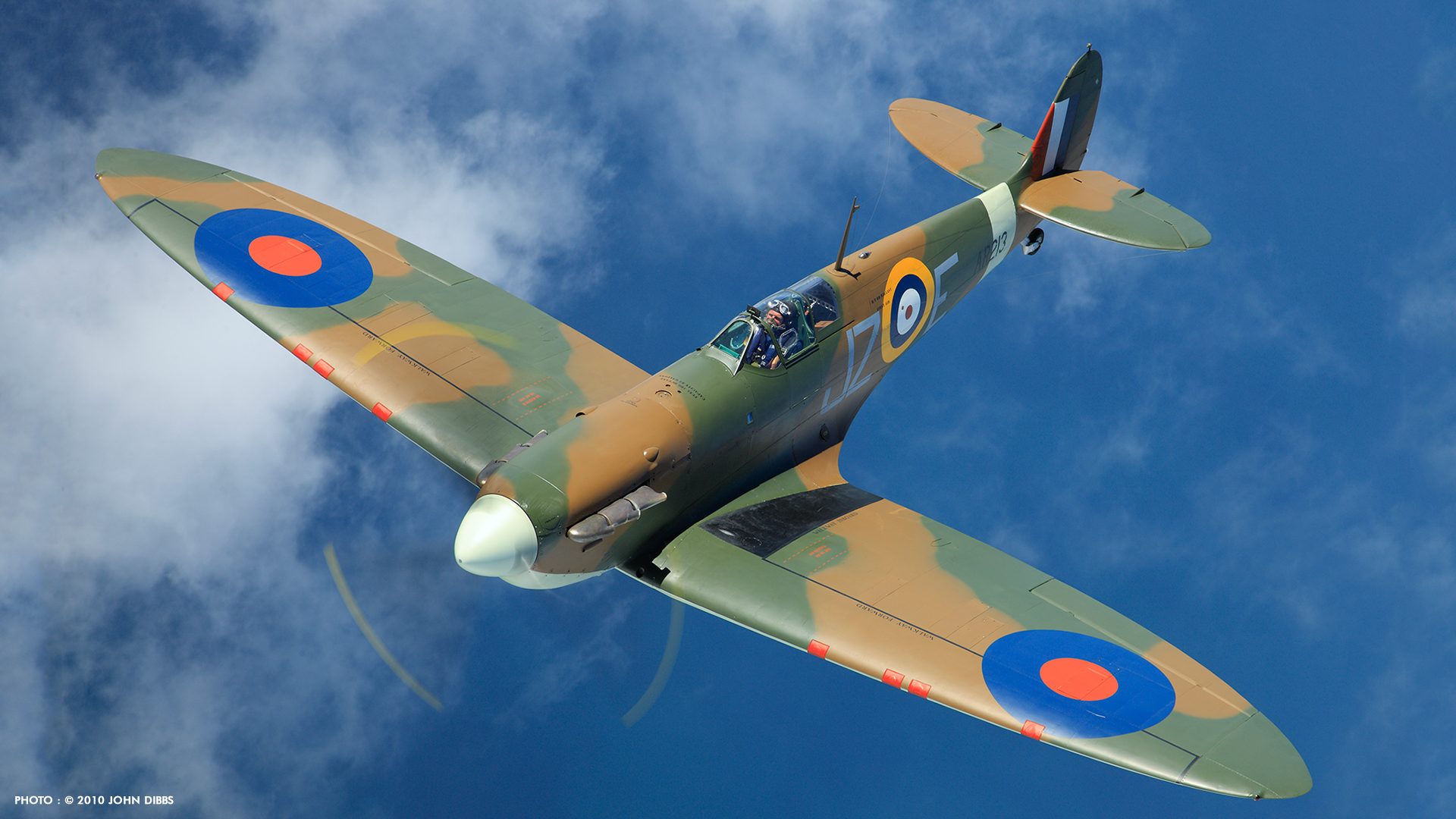 Spitfire Wallpaper HD - WallpaperSafari