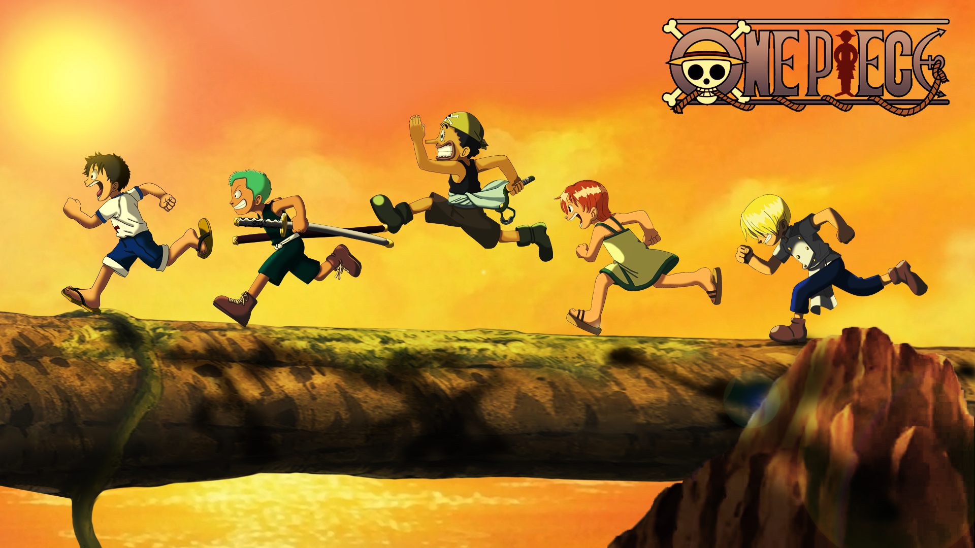 One Piece Children Anime hd wallpapers Background HD Wallpaper 1920x1080