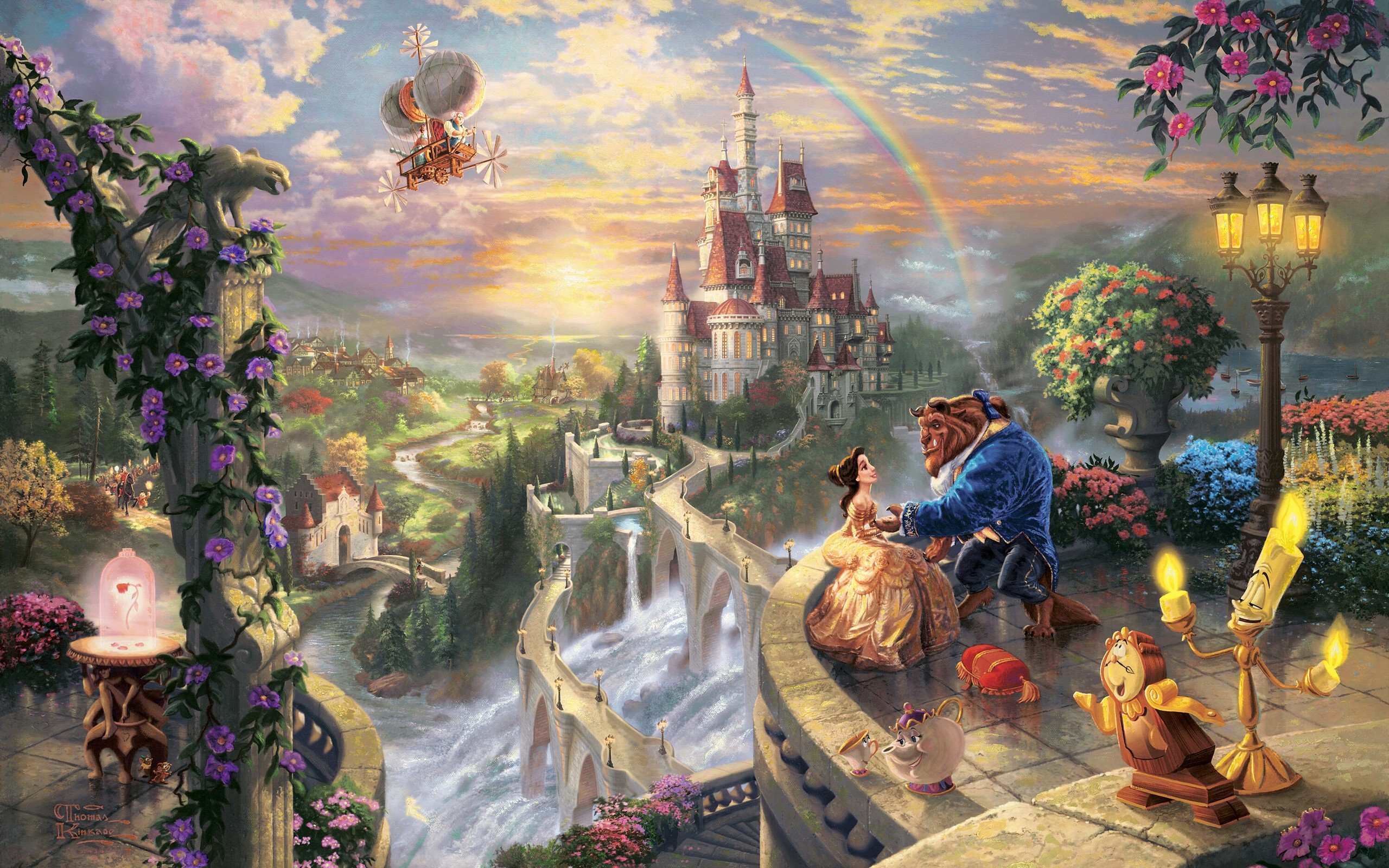 Alfa img   Showing gt Disney Fairy Tale Art 2560x1600