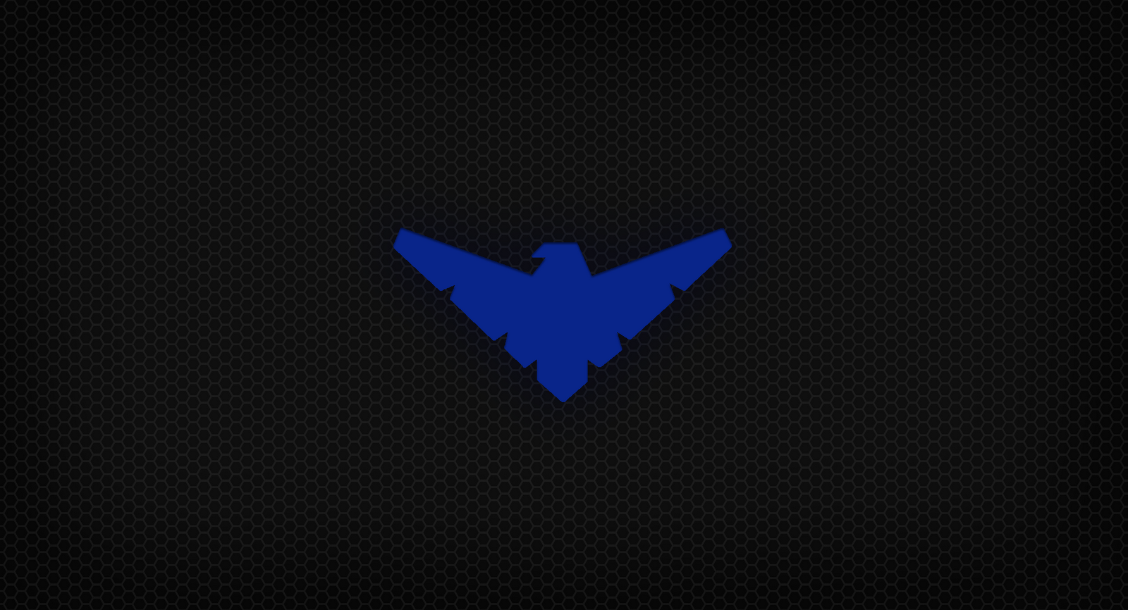 Wallpapers For Nightwing Symbol Wallpaper 1600x866