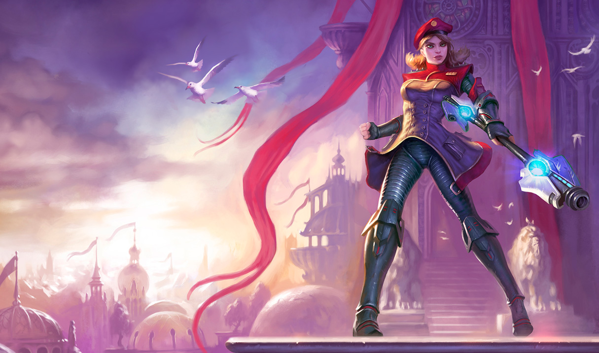 Imperial Lux Skin   League of Legends Wallpapers 1215x717