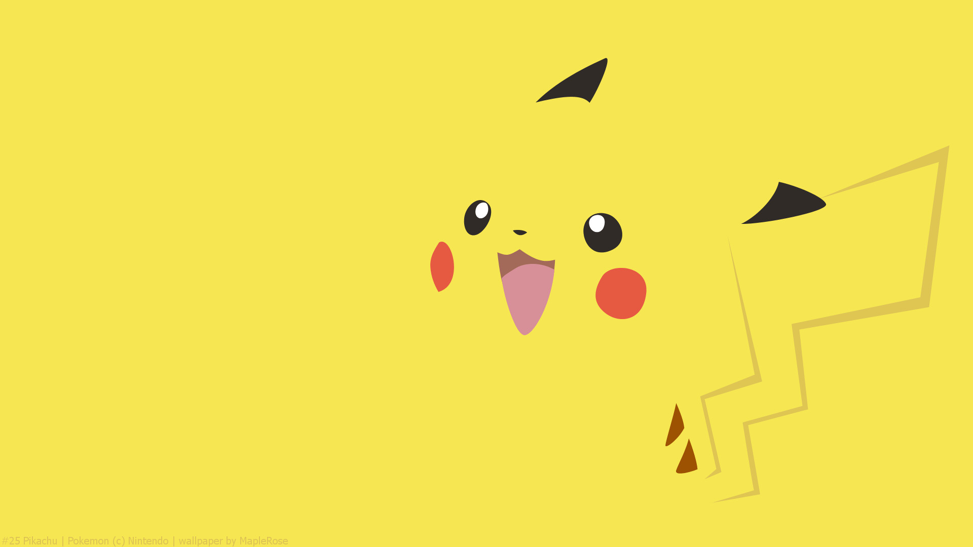 Pokemon Pikachu Wallpaper 1920x1080 Pokemon Pikachu 1920x1080