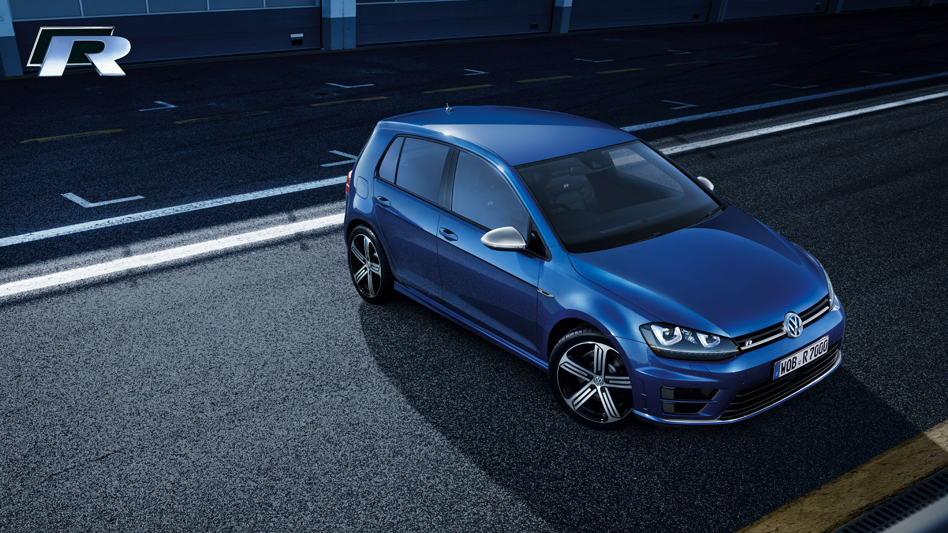2015 Volkswagen Golf R Sport Car Wallpaper   HD 1920x1080