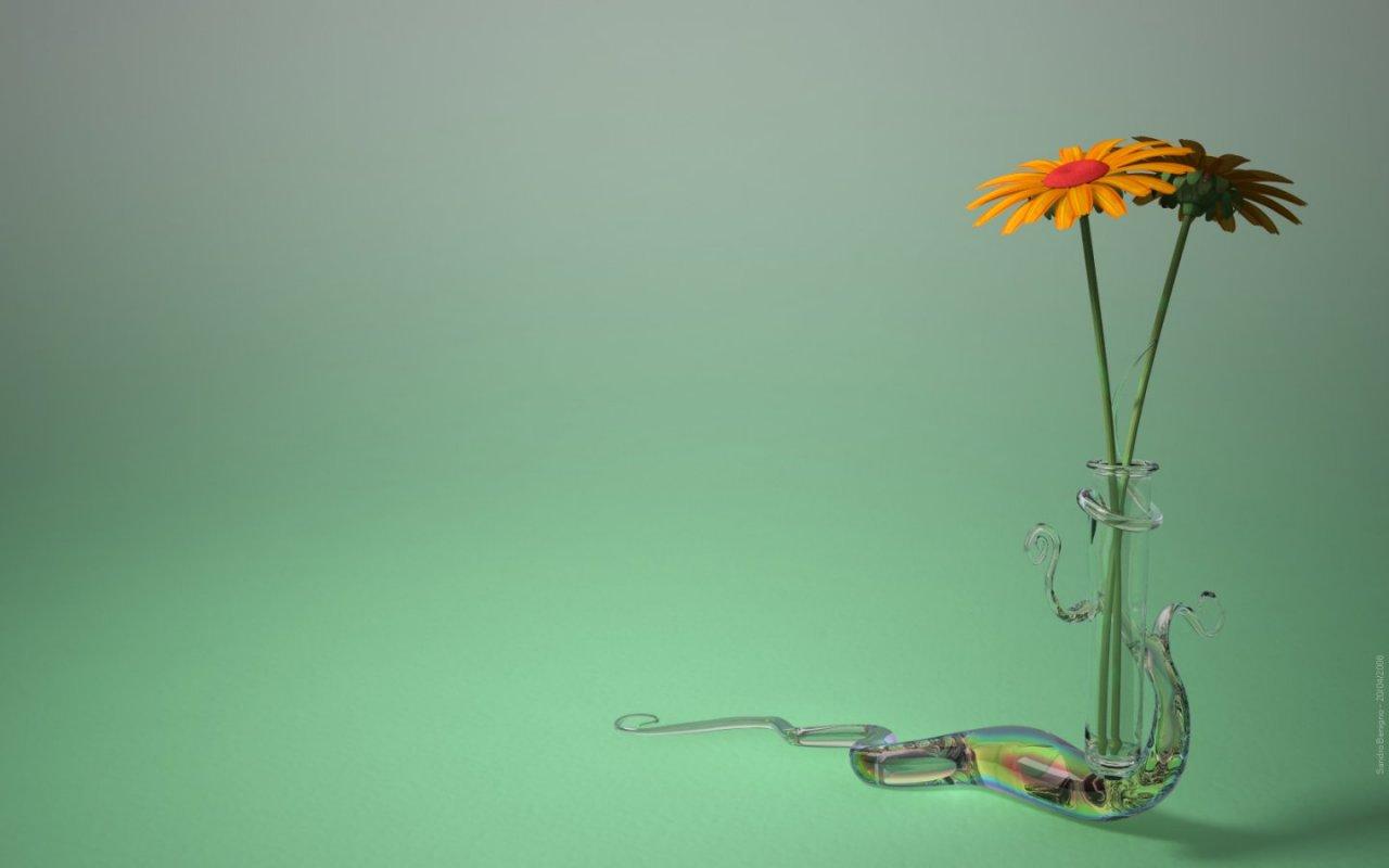 Flowers 3D Nature   HD Wallpapers Widescreen   1280x800 1280x800