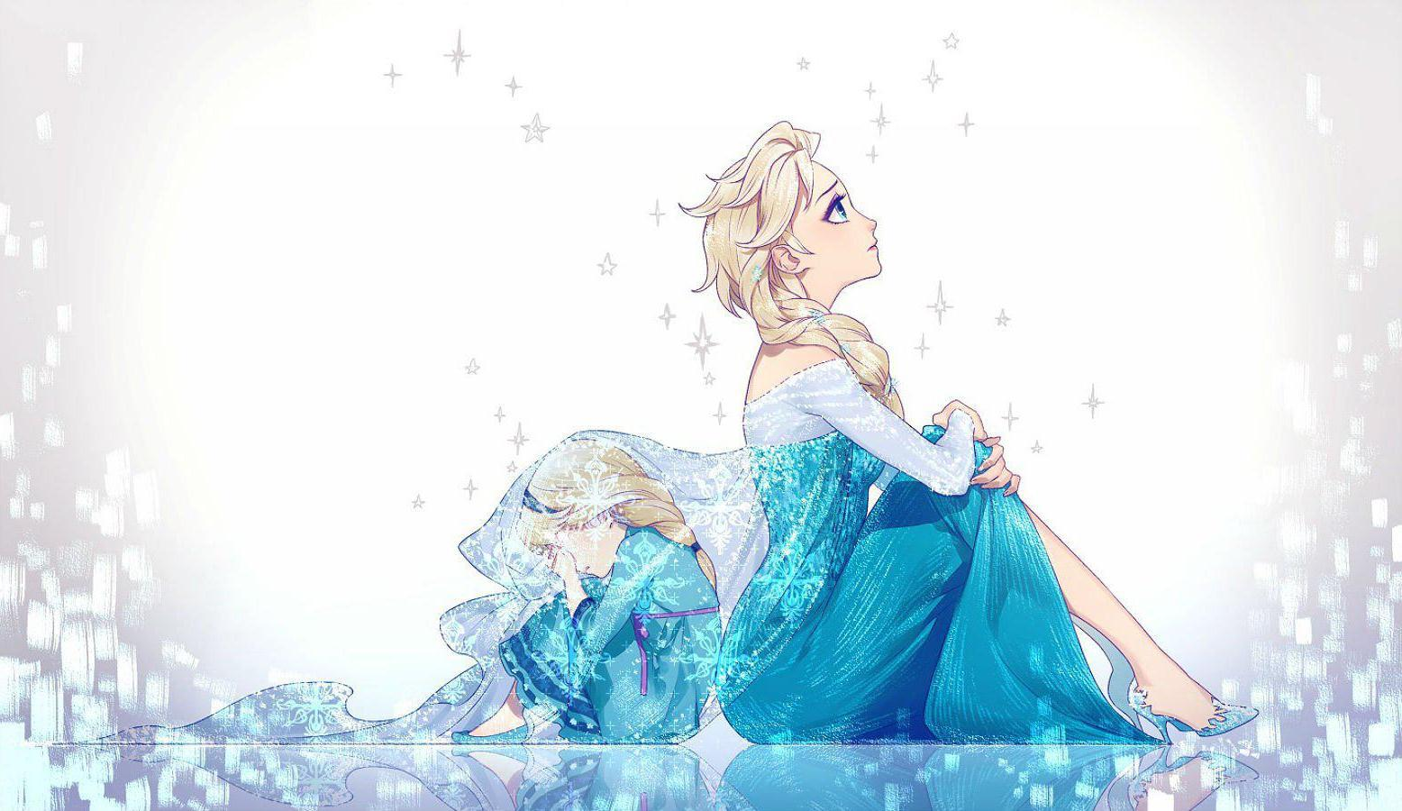 HD Sad Queen Frozen Elsa Wallpaper Download   139947 1556x900