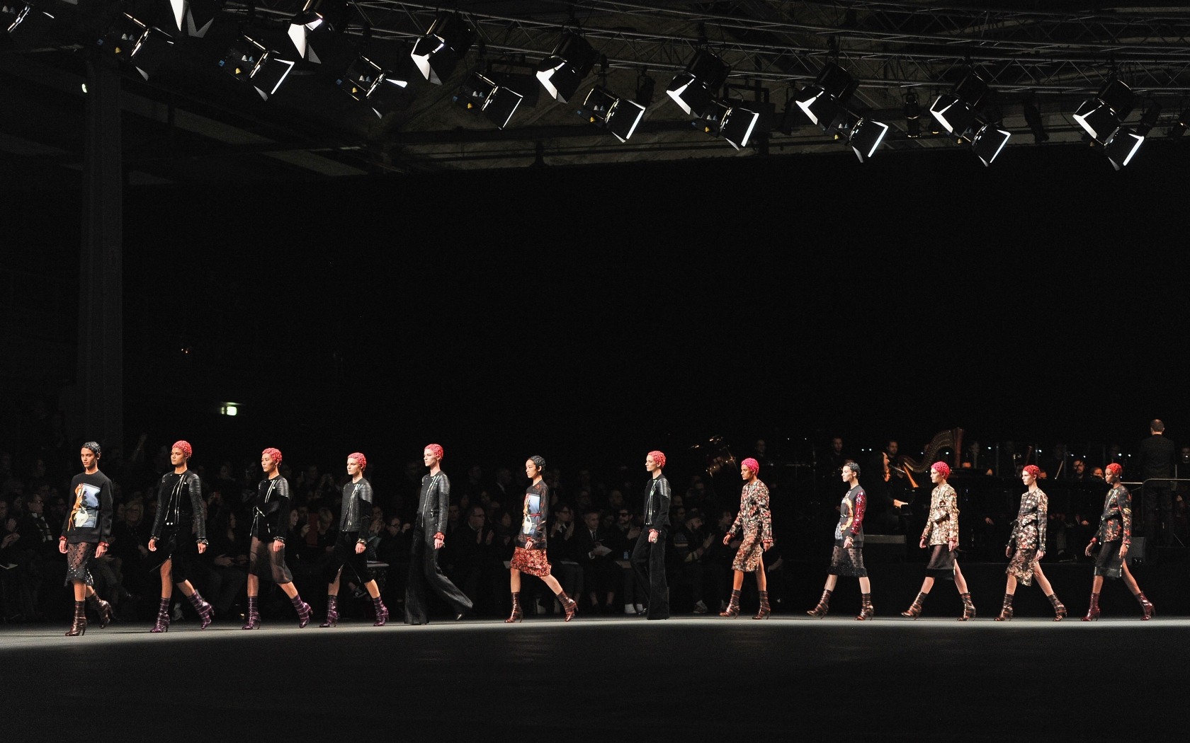 download Givenchy fashion show wallpapers and images 1680x1050