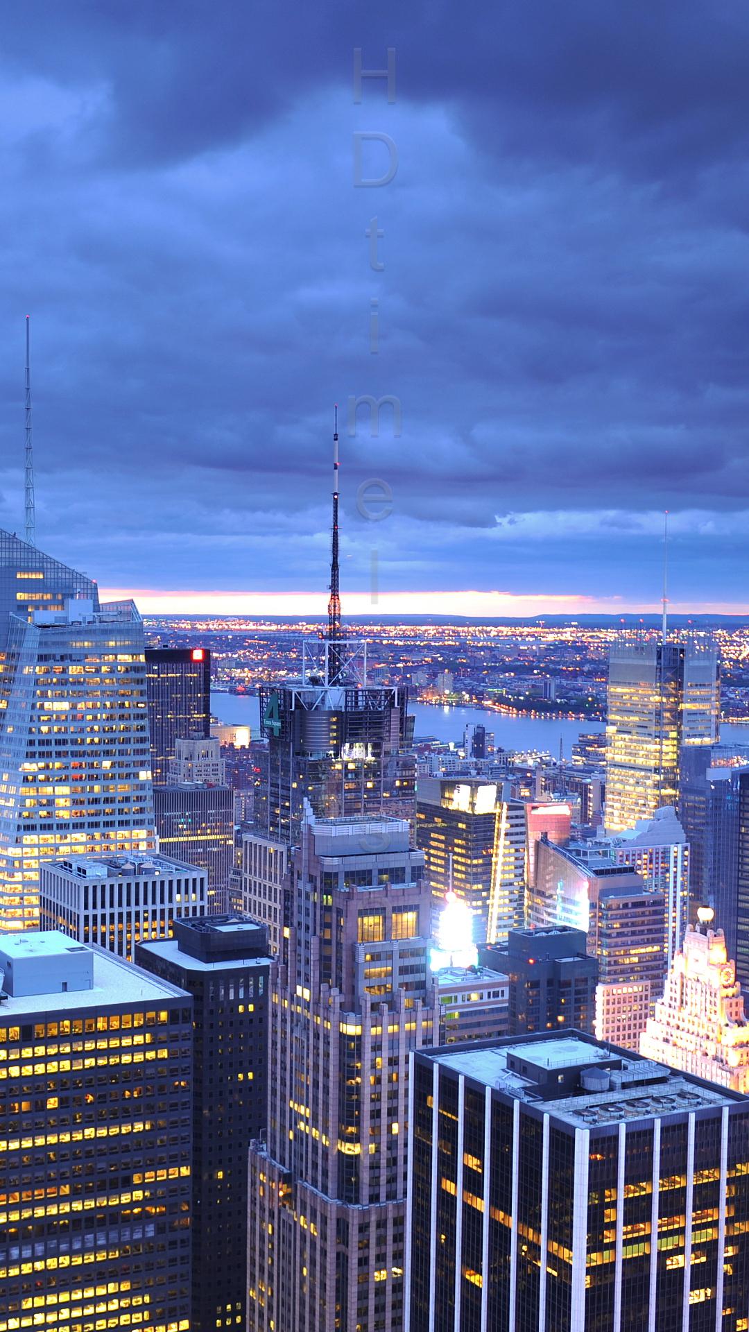 Manhattan Skyline Hd Wallpaper Wallpapersafari