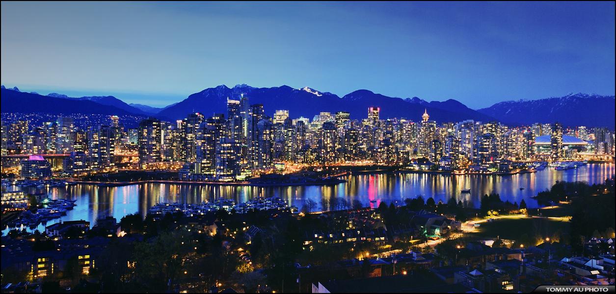 Vancouver Skyline   a photo on Flickriver 1255x600