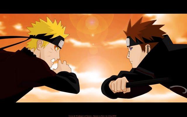 Naruto Vs Pain Wallpaper 640x400