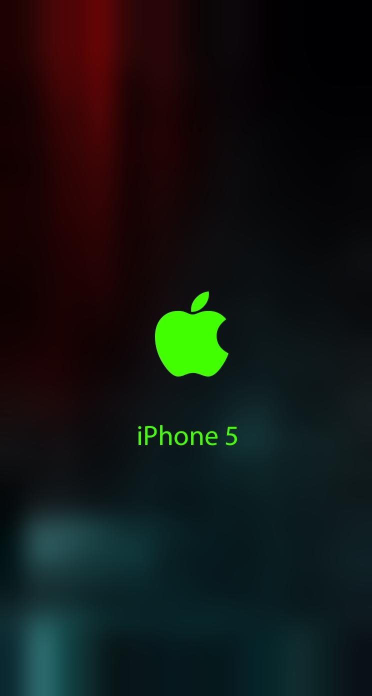 iPhone 5 Wallpaper Blurry blurred lock screen 744x1392