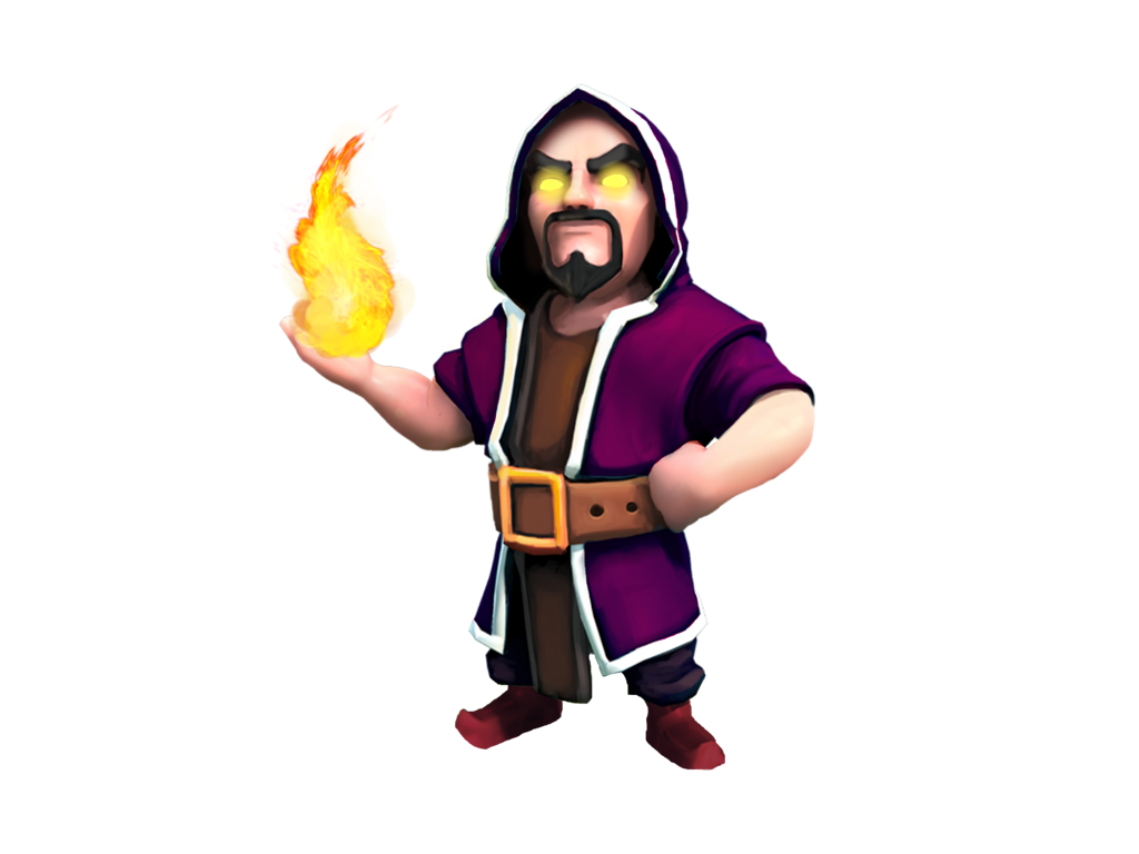 Clash of Clans wizard 1024x768