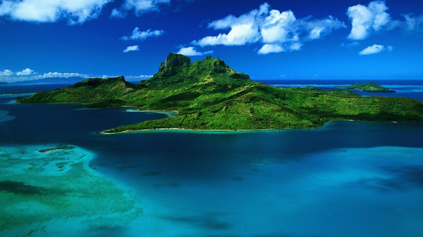 Bora Bora Wallpaper Tahiti - WallpaperSafari
