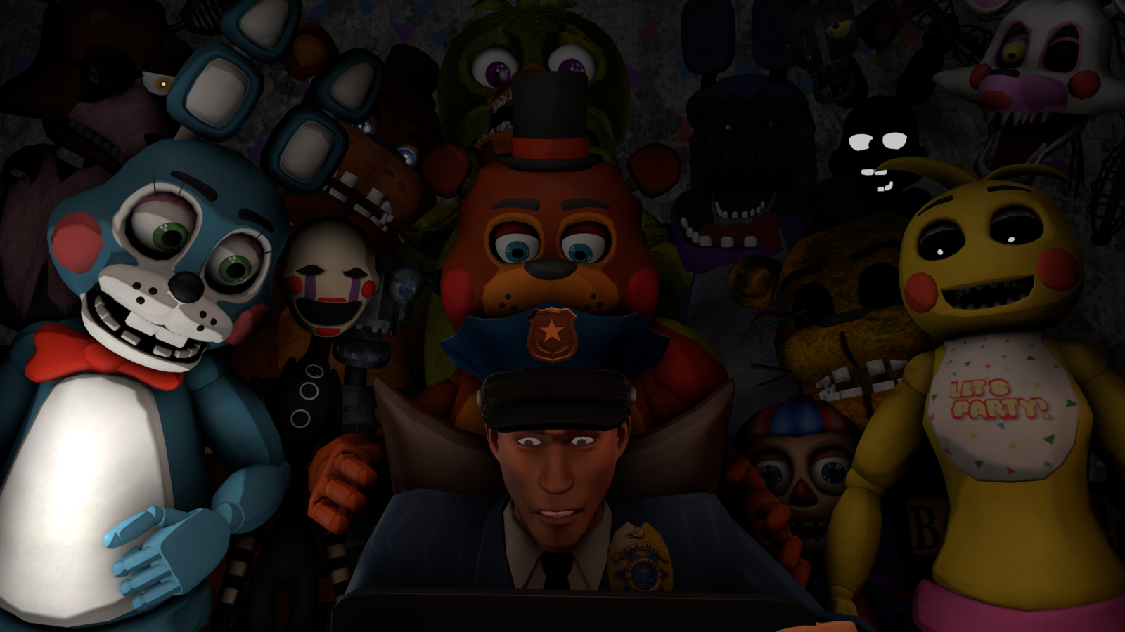 Free Download Five Nights At Freddys 2 By Kirby62626 1600x900