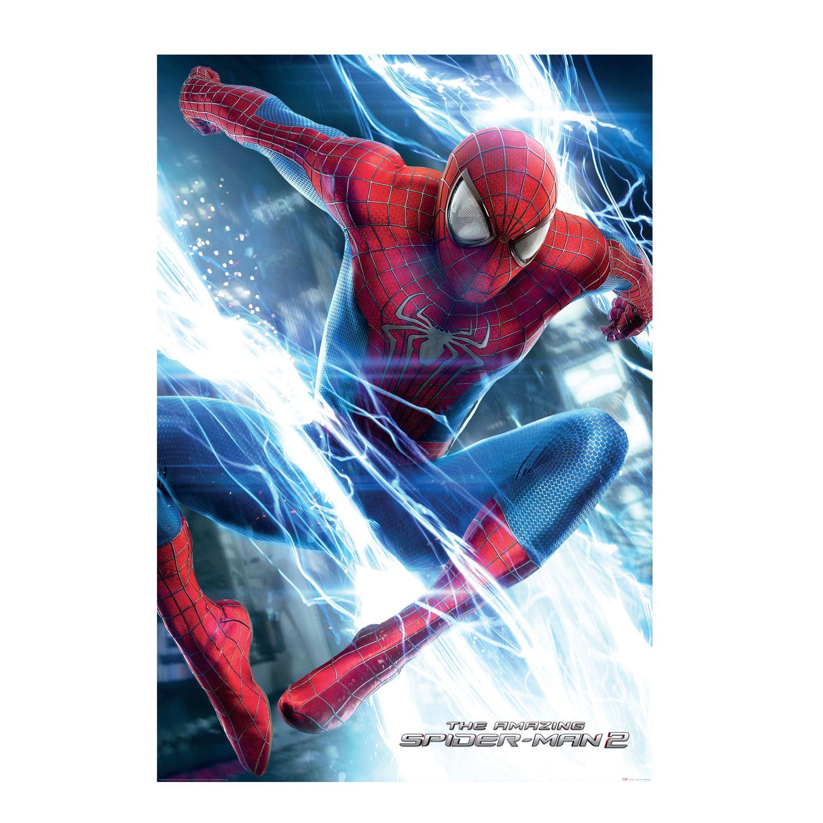 SPIDERMAN WALLPAPER WALL MURAL 232cm x 158cm NEW SPIDER MAN FEATURE 1600x1600