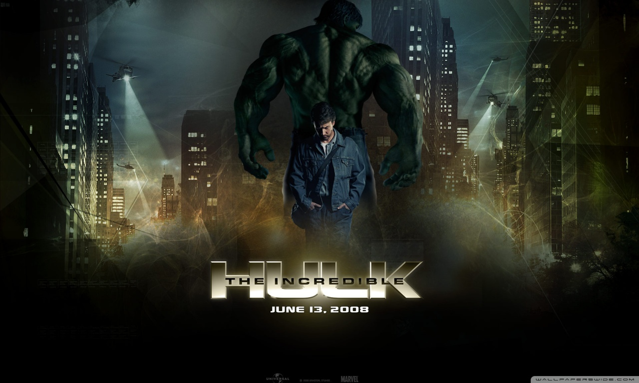 The Incredible Hulk 2 4K HD Desktop Wallpaper for 4K Ultra HD 1280x768