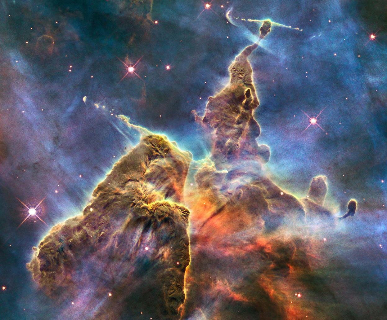 2012 Hubble Space Telescope Advent Calendar In Focus The 1247x1033
